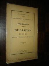 DEPARTEMENT DU PAS-DE-CALAIS - Station Agronomique - Bulletin 1907-1908