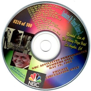 Frank Sinatra - The NBC Affiliates Meeting - Los Angeles 1981 -  Numbered Import