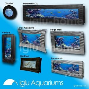 Brand New Wall Aquarium Vertical Fish Tank with Accessories Xmas Gift !!