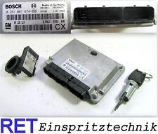 CENTRALINA MOTORE dispositivo di controllo BOSCH 0281001874 OPEL ASTRA VECTRA 2,0 DTI 09136119