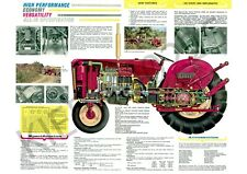 (A3) David Brown Case Poster Brochure Tractor 990 Implematic Brochure
