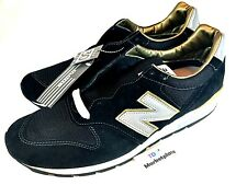 New Balance 996 Limited Suede Running Mens Black Gold Made in USA Size 11.5
