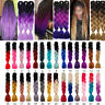 New Kanekalon Ombre Synthetic Jumbo Braiding Hair Extension Afro Twist Braid FT5