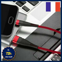 CABLE CHARGEUR MOBILE TABLETTE MICRO USB TYPE-C COMPATIBLE TOUTES MARQUES