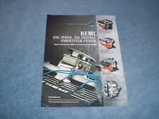 "2005 Mopar Hemi Crate Engine Ad ""One Word, Six Engines, Unmatched Power"""