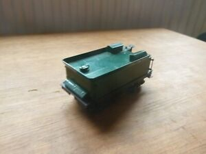 metal double bogie green tender with motor unknown make