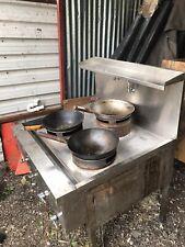 More details for 3 burner chinese cooker