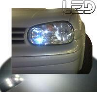 GOLF IV 4 IV 2 Ampoules LED  Blanc Veilleuses Feux position Anti erreur ODB