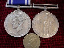 Replica Copy GVI Police Long Service Good Conduct Medal full size