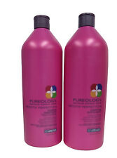 Pureology Smooth Perfection Shampoo and Conditioner for Frizzy Hair 33.8 oz Pump