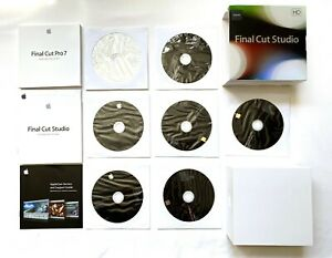 Apple Final Cut Studio 7 Upgrade HD Mac MB643Z/A with SERIAL NUMBER! EXCELLENT!