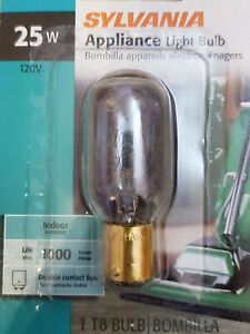 Sylvania 25T8DC 25w 120V Double Contact base Appliance Bulb