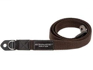 Artisan & Artist Trageriemen Strap ACAM 102 braun für z.B. Leica M X Q T