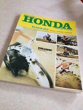 Cycleserv Honda CR125M CR250M CR 125 250 Owner workshop manual