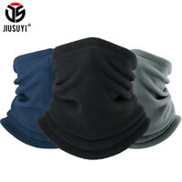Thick Fleece Neck Warmer Scarf Face Mask Bandana Motorcycle Sports Ski Balaclava