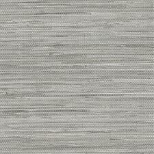 Wallpaper Gray Faux Grasscloth, Smooth Finish Not Textured