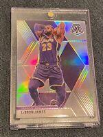 LEBRON JAMES 2019-20 Panini Mosaic SILVER HOLO - Super Rare - Lakers SSP PSA 10?