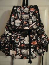 New LeSortsac Cupcake Voyager Backpack NWT Book Bag Patisserie Candy Logo Bakery
