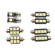 8Pcs 12V LED Interior Car Lights Package Kit For 2001-2004 AUDI A4 B6 8E J1