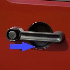 3Pcs 2 Doors Car Black Exterior Door Handle Recess Guard ABS For Jeep Wrangler