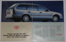 Advert Pubblicità 1993 TOYOTA COROLLA SW 16V