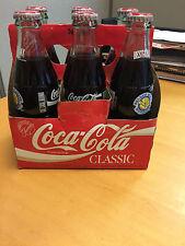 Warriors  Best of Bay Classic Coke Cola Bottles Vintage Full Set of  6 full