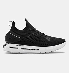 Women Under Armour HOVR Phantom RN Running Shoes Sz 7.5 Black White 3022600 001