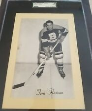 BEEHIVE HOCKEY 🏒PHOTO CARD 1945-1964 FERN FLAMAN BOSTON BRUINS 🏒GRADED SGC NHL