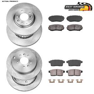 2007 2008 2009 2010 2011 2012 Mazda 5 OE Replacement Rotors w//Metallic Pads R