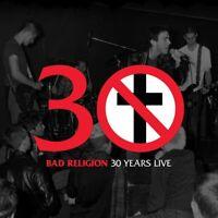 BAD RELIGION - 30 YEARS LIVE-BLACK VINYL  VINYL LP NEU