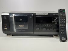 Sony CDP-CX57 Mega Storage 50 CD Changer Carousel Compact Disc W/ Remote