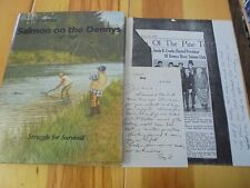 Story Of A River, Salmon on the Dennys By Bartlett & Robinson Signed w. Note 1st