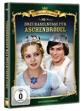 3 DREI HASELNÜSSE FÜR ASCHENBRÖDEL Märchen Film Klassiker ASCHENPUTTEL DVD Neu