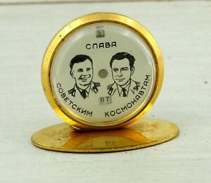 RARE calendar souvenir Glory to the Soviet cosmonauts 1 MChZ space rocket cosmos