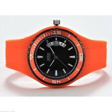Guess w95143g5 fin black deportivo naranja reloj hombre mejorofertarelojes