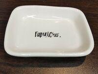 Rae Dunn FABULOUS Trinket Tray Dish Small Platter Soap