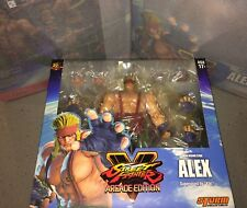 Storm Collectibles Alex Street Fighter V 1/12 Scale Action Figure NEW IN STOCK