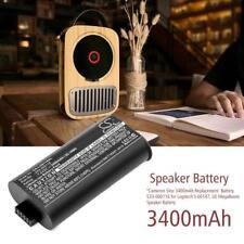 3400mAh Replacement Battery 533-000116 For Logitech S-00147 UE MegaBoom Speaker