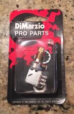 DIMARZIO USA 500k Push Pull pot fits Fender Strat & Tele, Ibanez JEM RG Les Paul
