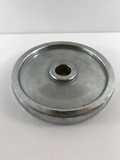 "Ivanko Barbell Company Chrome Standard Plate 1"" 7.5 Lb Weight Rare Collectible"