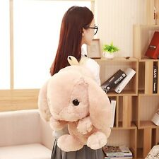 Student Bunny Backpack Ladies Kawaii Plush Doll Rabbit School Tour Shoulder Bag