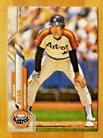 2020 Topps Series 1 SP Photo Image Variation Nolan Ryan #260 Houston Astros