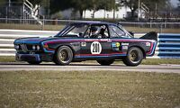 1972 BMW CSL racing at Sebring Vintage Classic Race Car Photo CA-1031