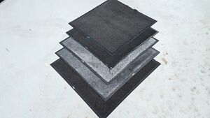 Pack of 5 Non Slip Dirt Trapper Floor Mats 3x3 for Dog kennel Mat Puppy Mat