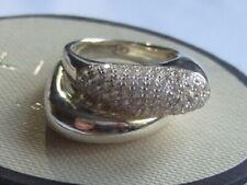 New genuine Links of London white topaz ring size K fully hallmarked RRP £250