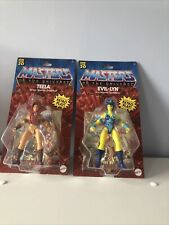 He Man MOTU Retro Play Teela Evil Lyn Figures