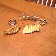 Lot of 5 Vintage Brooch Pin Penguin JJ 1988, Coro 1961, Gerrys, Other