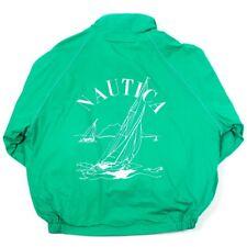 Vintage NAUTICA Reversible Waterproof Sailing Jacket | Mens L | Coat Rain Wind