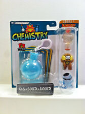 Basher Science Chemistry Three (3) Pack with Exclusive Gas + 2 Other Figures.