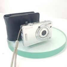 Sony Cyber-shot DSC-W55 7.2MP Digital Camera - Silver TESTED In Working cond#816